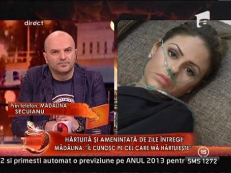 Madalina Secuianu, luata de urgenta cu ambulanta!