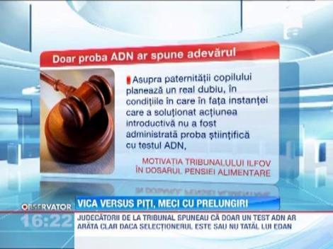 Victor Piturca va trebui sa-i plateasca fiului sau 9000 de euro pe luna, plus 100.000 de euro datorii de judecata