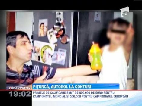Victor Piturca risca sa-i plateasca fiului sau o pensie alimentara mai mare de 9.000 de euro