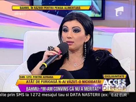 """Adriana Bahmuteanu: """"Copiii vor fi mai fericiti cu un tata vitreg"""""""