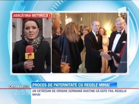 Un cetatean german s-a adresat instantei pentru a demonstra ca este fiul Regelui Mihai