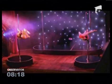 SEXY la scoala: Curs universitar de dans la bara