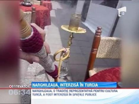 Narghileaua, interzisa in Turcia