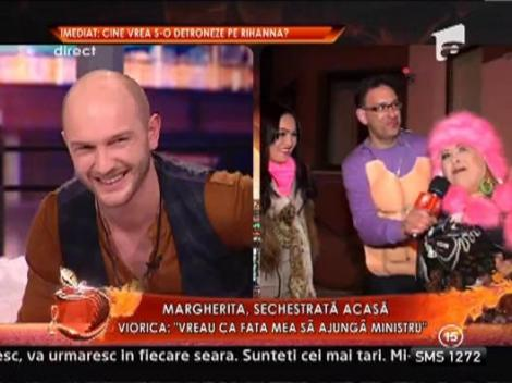 "Margherita, sechestrata acasa: ""De doua saptamanai n-am mai fost in niciun club"""