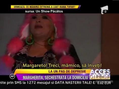 "Margherita, sechestrata la domiciuliu:  ""De doua saptamanai n-am mai fost in niciun club"""