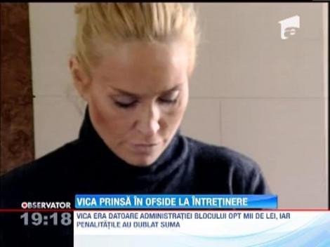 Vica Blochina, pe punctul de a-si pierde locuinta primita de la Victor Piturca!