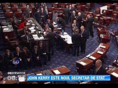 John Kerry, confirmat in functia de secretar de stat al SUA