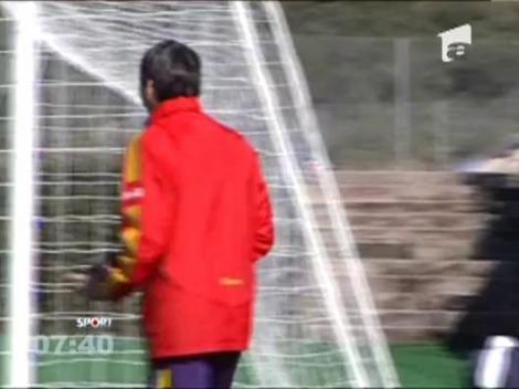 Piturca s-a antrenat cot la cot cu jucatorii in Spania