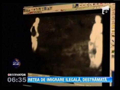 Retea de imigrare ilegala, anihilata intr-o actiune comuna a fortelor de politie din 10 tari