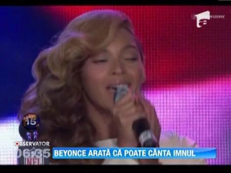 Beyonce recunoaste ca a facut playback la ceremonia de investire a lui Barack Obama