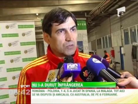 """Victor Piturca, dupa 1-4 cu Polonia: """"Nu conteaza rezultatul"""""""