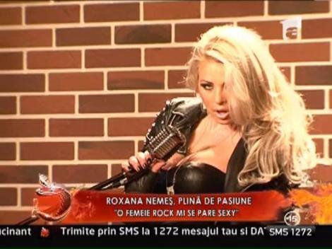 Roxana Nemes, o femeie rock FOARTE SEXY!