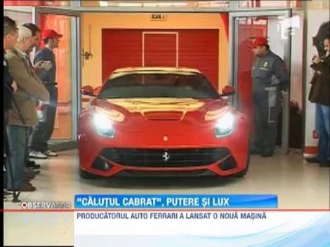 Pilotul Giancarlo Fisichella a lansat in Romania un nou model de Ferrari