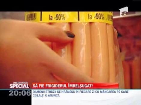 Observator Special: Romanii arunca anual doua milioane de tone de mancare la tomberon