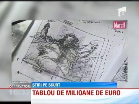 A platit 1.400 de dolari pentru un tablou care valoreaza 41 de milioane de lire