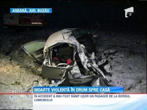 Doua politiste din cadrul IPJ Bacau si-au pierdut viata intr-un grav accident rutier