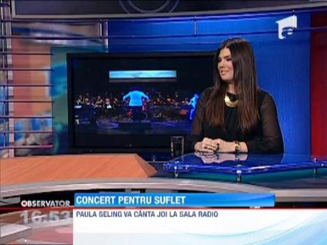 Paula Seling, concert grandios la Sala Radio