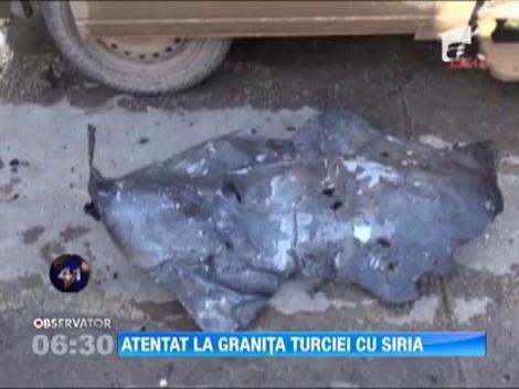 13 morti dupa explozia unei masini-capcana la granita dintre Turcia si Siria
