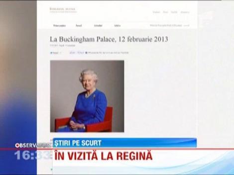 Principele Radu si principesa Margareta, in vizita la Regina Elisabeta a II-a