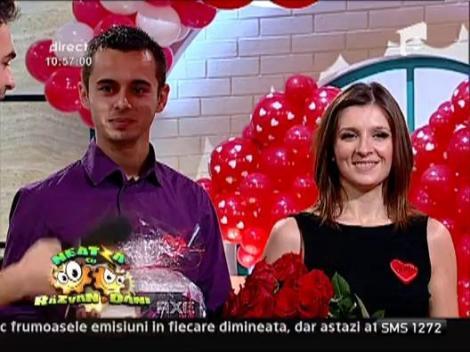 Daniela si Razvan au castigat inelul de diamant