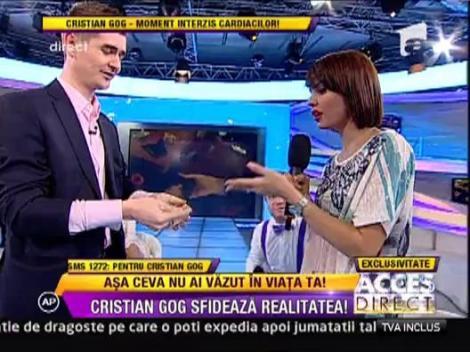 Cristian Gog a lasat-o fara inel pe Andreea Popescu!