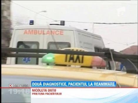 Un bucurestean a intrat in coma, dupa un diagnostic gresit