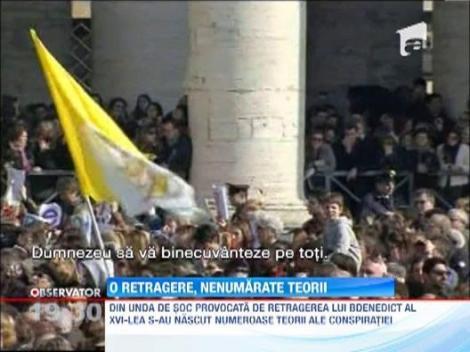 Motivele plecarii Papei Benedict al XVI-lea