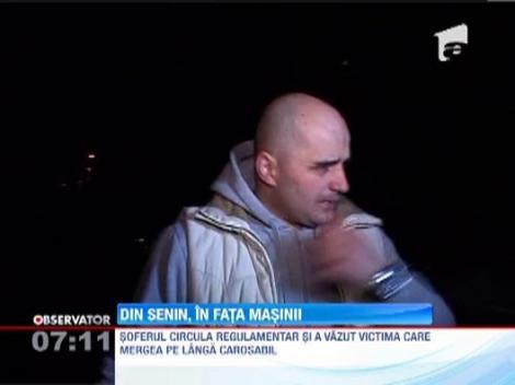 Accident cu multe semne de intrebare, in Baia Mare! Un tanar de 23 de ani a fost lovit grav de o masina, dupa ce s-ar fi aruncat voit in fata ei