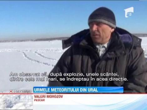 Rusii au inceput reconstructia dupa distrugerile provocate de meteoritul care a explodat deasupra regiunii Ural