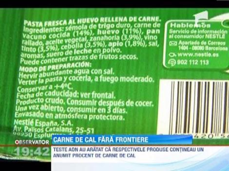 Firma elvetiana Nestle a retras doua produse din magazinele din Italia, Spania si Germania
