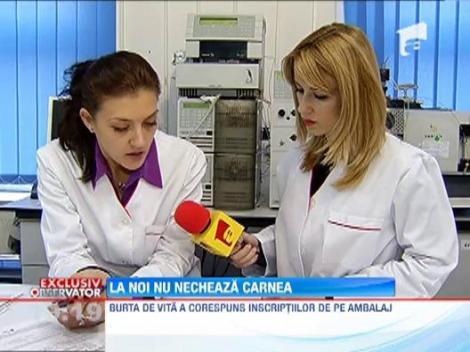 EXCLUSIV!!! Teste de laborator pentru carnea tocata din Romania