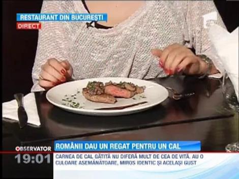 SOCANT! Carnea de cal a ajuns in restaurante si fast-food-uri! Reprezentantii firmei sunt anchetati si pentru falsificarea etichetelor