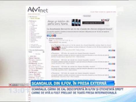 Scandalul carnii de cal descoperite in Ilfov a ajuns in presa internationala