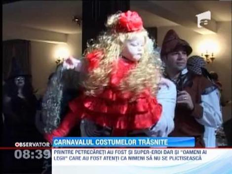 Sute de brasoveni au petrecut pana in zori, la Carnavalul Costumelor Traznite!