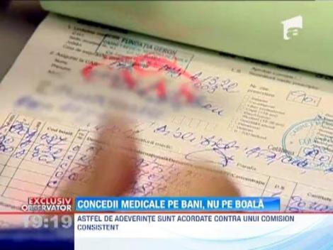 In Romania, concediile medicale se dau pe bani, nu pe boala