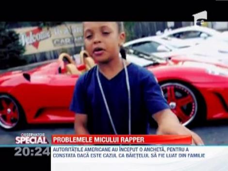 Problemele micului rapper Lil Pooppy