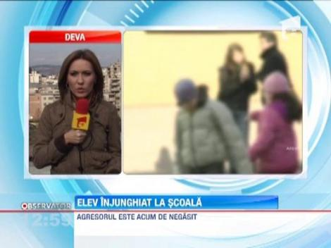 SOCANT! Un elev al unui liceu din Baia Mare a fost injunghiat pe holurile scolii de un coleg