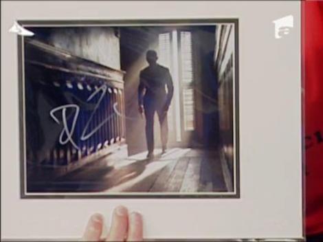 Mircea Badea are autograful lui Daniel Craig