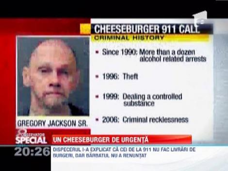 Un american a fost arestat dupa ce a sunat de cinci ori la 911, ca sa ceara un cheeseburger