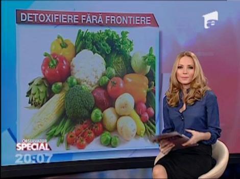 Primavara este momentul detoxifierii: O reteta usoara, pe placul nutritionisilor, marca Anca Rusu
