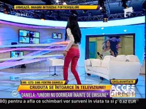 Daniela Crudu se intoarce la TV! Cruduta, in locul Simonei Gherghe la Acces Direct (VIDEO)