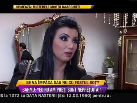 """Adriana Bahmuteanu: """"Eu nu sunt de vanzare. Sper sa raman in relatii bune cu Prigoana"""""""