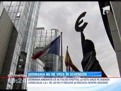 Germania nu ne vrea in Schengen. Vor sa blocheze granitele de frica romanilor!
