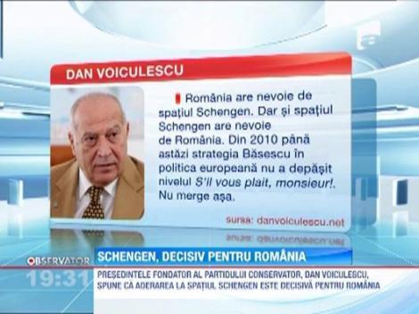 Schengen, decisiv pentru Romania