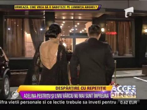 Adelina Pestritu si Liviu Varciu s-au despartit, din nou!