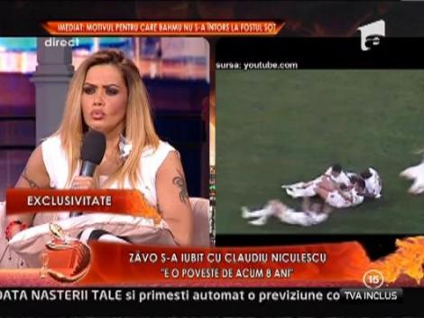 """Oana Zavoranu, idila cu fotbalistul Claudiu Niculescu! """"S-a purtat impecabil cu mine"""""""
