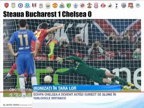 Jucatorii lui Chelsea, subiect de glume in tabloidele britanice