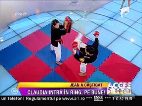 Claudia Patrascanu a pierdut pariul cu Jean Paler