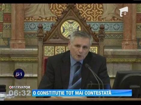 Constitutie contestata in Ungaria