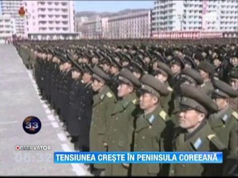 Tensiuni tot mai ridicate intre cele doua Corei